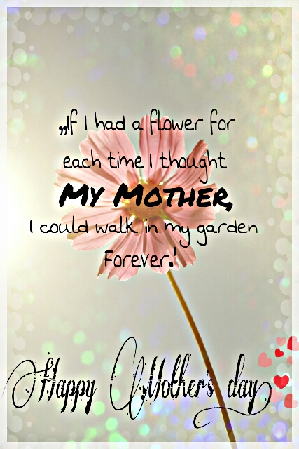 10 most liked mothers day cards weekend art project finalists some cards took a more classic approach by featuring personal mothers day messages edina95 designed a card with the words it i had a flower for each m4hsunfo