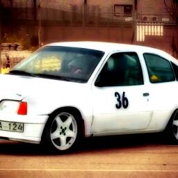 cars rallycar white whitecar opel