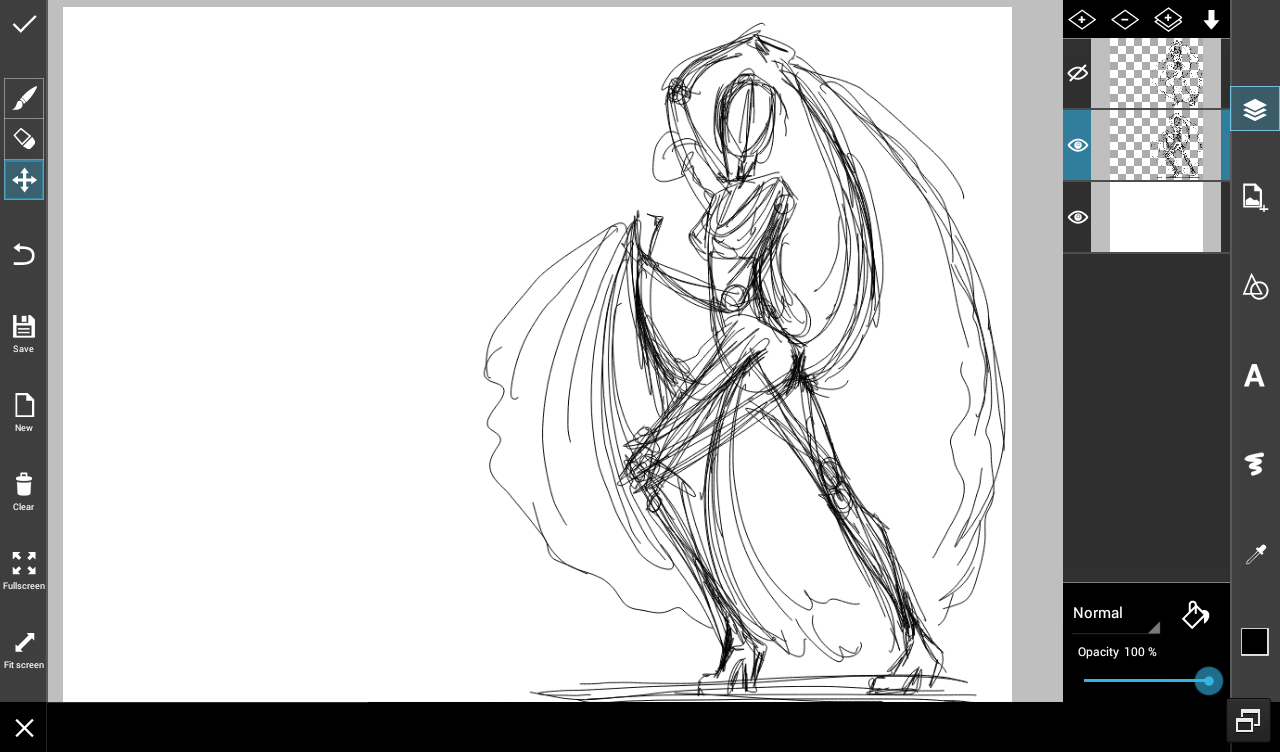 6 Easy Steps For Sketching Dancers Dcdance Drawing Tutorial