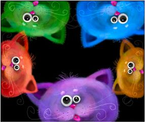 colorful pets & animals emotions dcpets popart