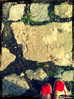 message brick summer love cute
