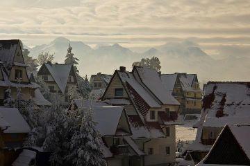 winter zima polska poland