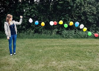 photography nature colorful emotions balloon black & white