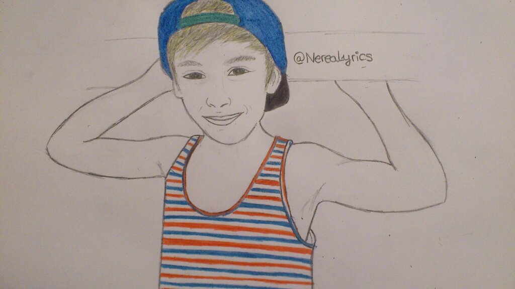 JohnnyOSings drawing - Photo by Nerea Ruiz